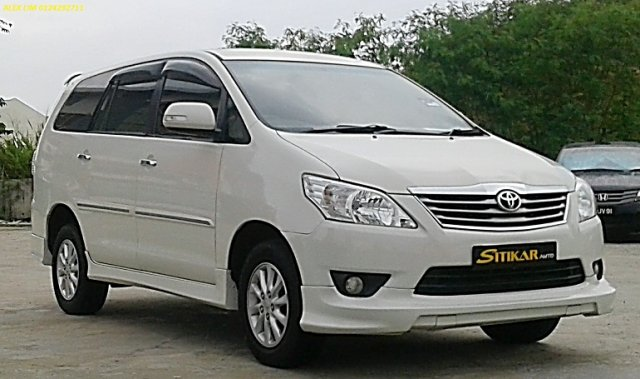2013 TOYOTA INNOVA 2.0 (A) G SPEC HIGH SPEC MODEL